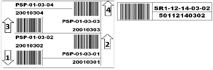 паллетная этикетка образец - фото 5