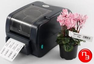 принтер термотрансферный для этикеток с петелькой для питомника